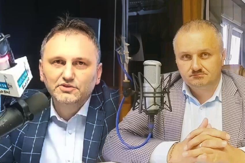 21.05.2021 - Gośćmi Dnia Radia byli Arkadiusz Kuglarz i Daniel Palimąka