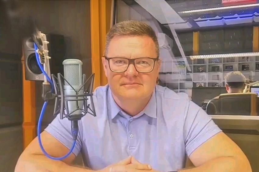 12.02.2021 - Gościem Dnia Radia Nysa był dzisiaj Bogdan Wyczałkowski