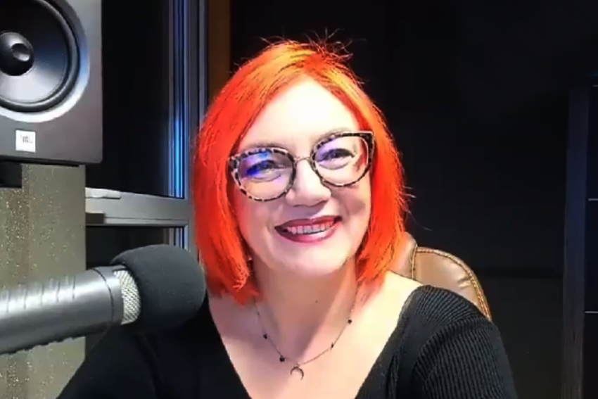 03.09.2021 - Gościem Radia Nysa była Teresa Czarnołęska