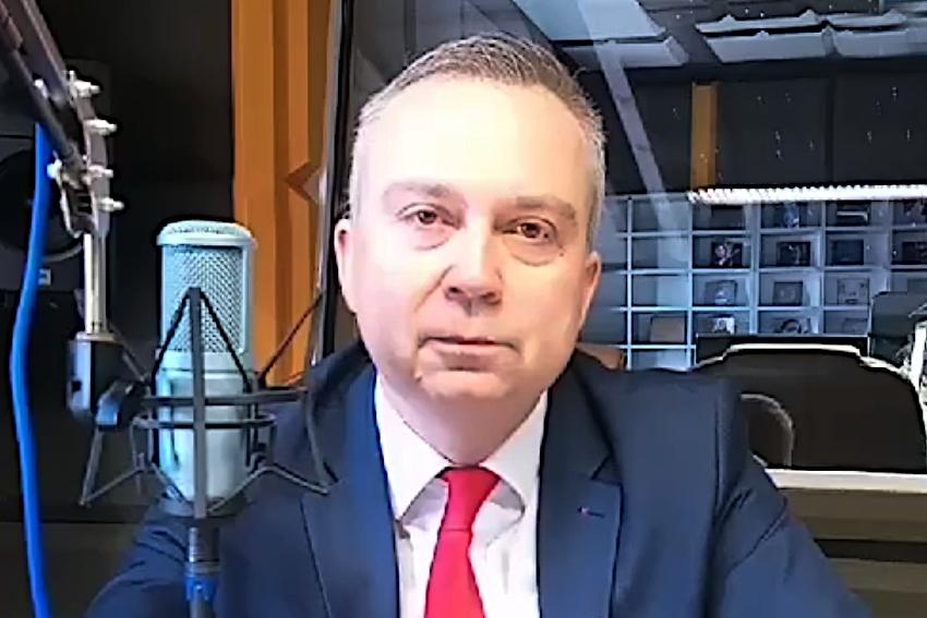 22.04.2021 - Gościem Dnia Radia Nysa był Piotr Woźniak