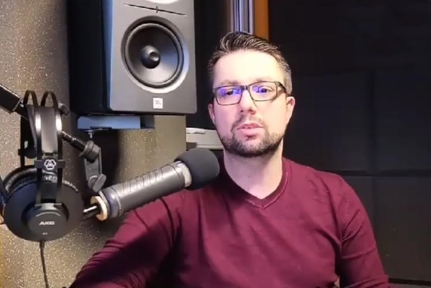 02.02.2021 - Gościem Dnia Radia Nysa był Łukasz Bogdanowski