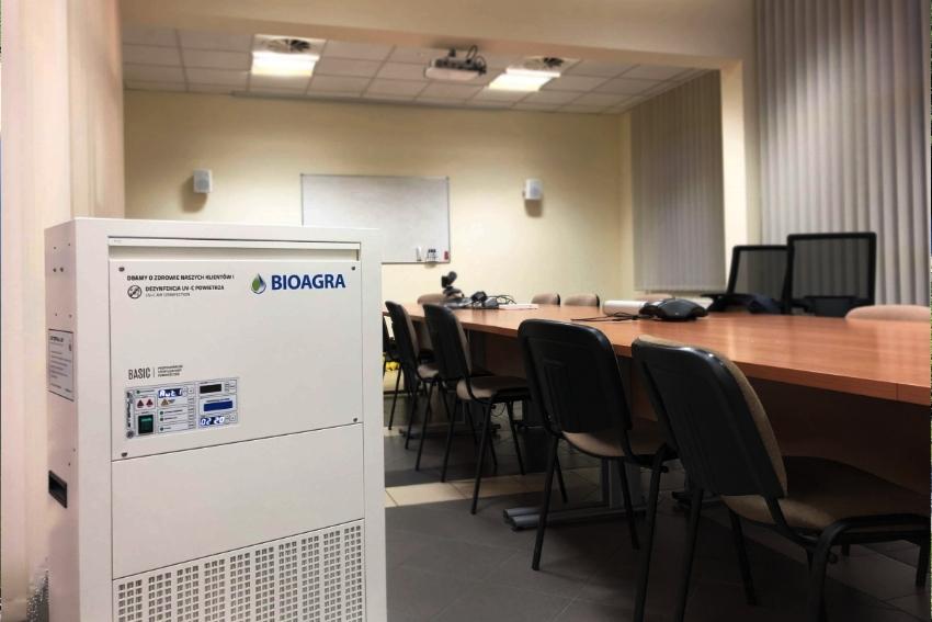 Bioagra dezynfekuje powietrze!