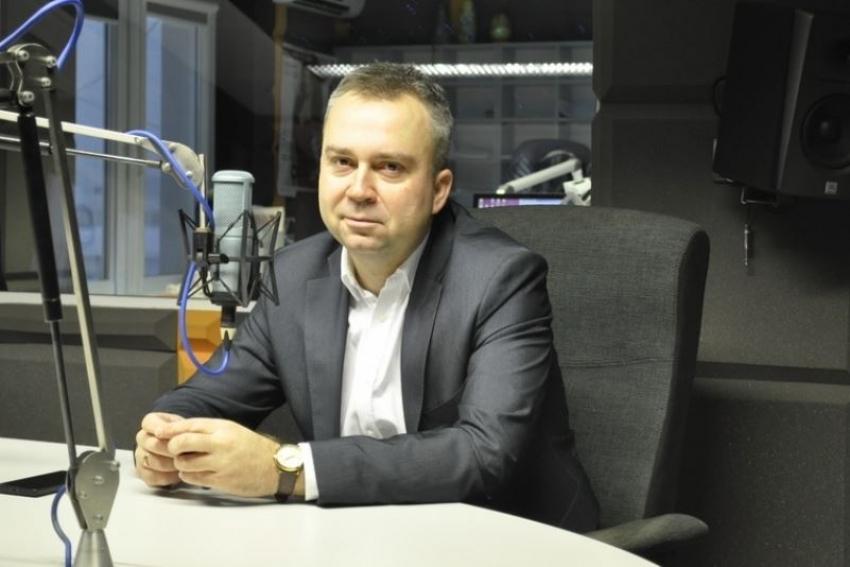 09.01.2020 - Gościem Dnia Radia Nysa był dzisiaj Piotr Woźniak