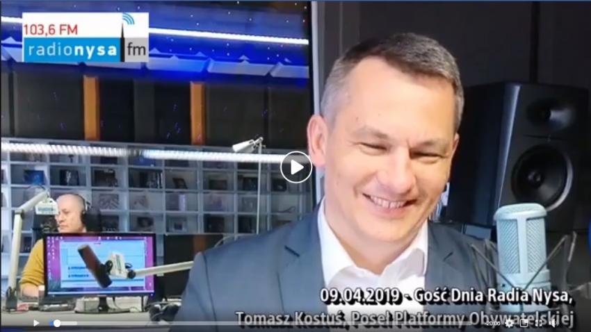 09.04.2019 - Gość Dnia Tomasz Kostuś