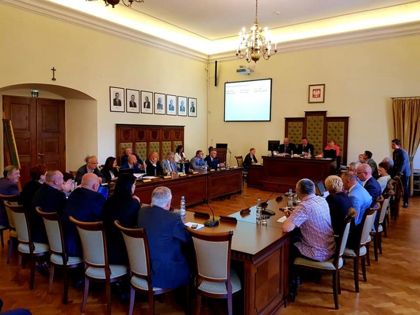 Zmiana wiceprzewodniczącego rady powiatu