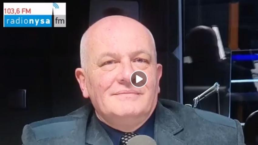 13.05.2020 - Gościem Dnia Radia Nysa był Andrzej Kruczkiewicz