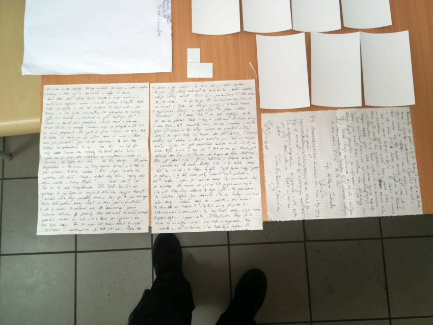 Metaamfetamina ukryta w kartkach papieru miała trafić do prudnickiego więzienia