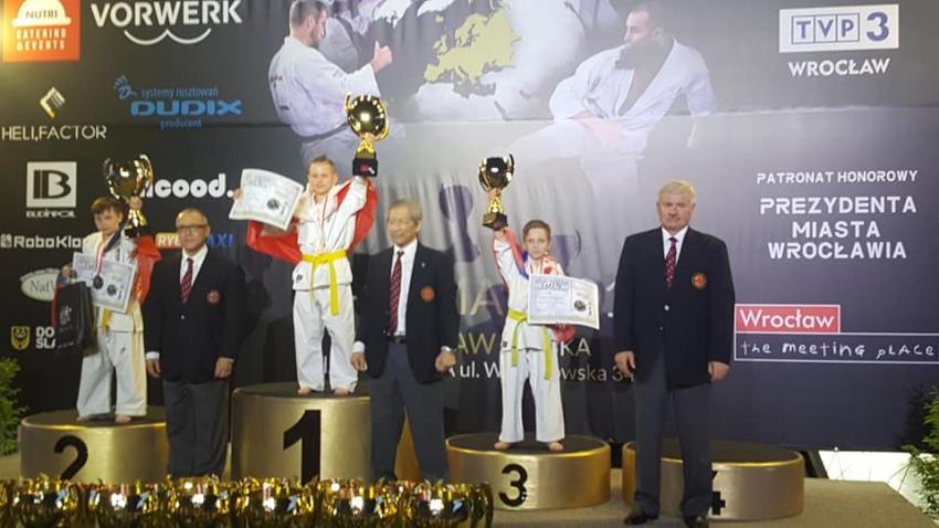 Młody nyski karateka zbiera na wyjazd do Stanów Zjednoczonych