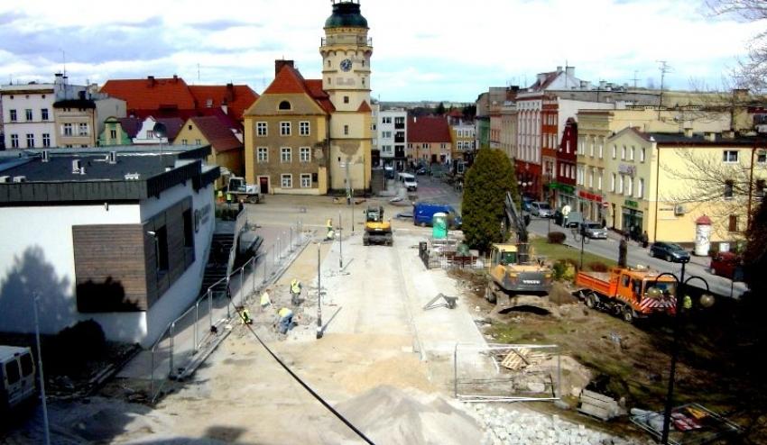 Trwa rewitalizacja centrum Otmuchowa