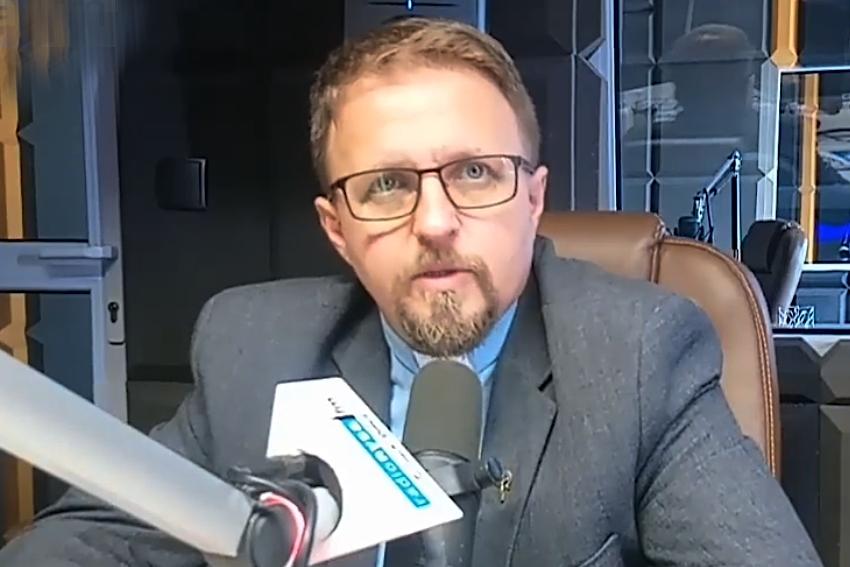 22.06.2021 - Gościem Dnia Radia Nysa był Ksiądz Tomasz Szczeciński