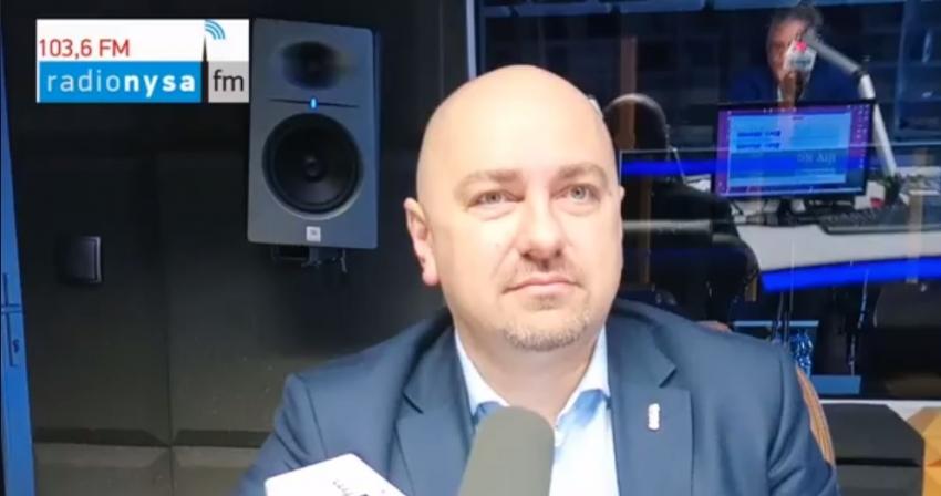 30.04.2020 - Gościem Dnia Radia Nysa był Grzegorz Zawiślak