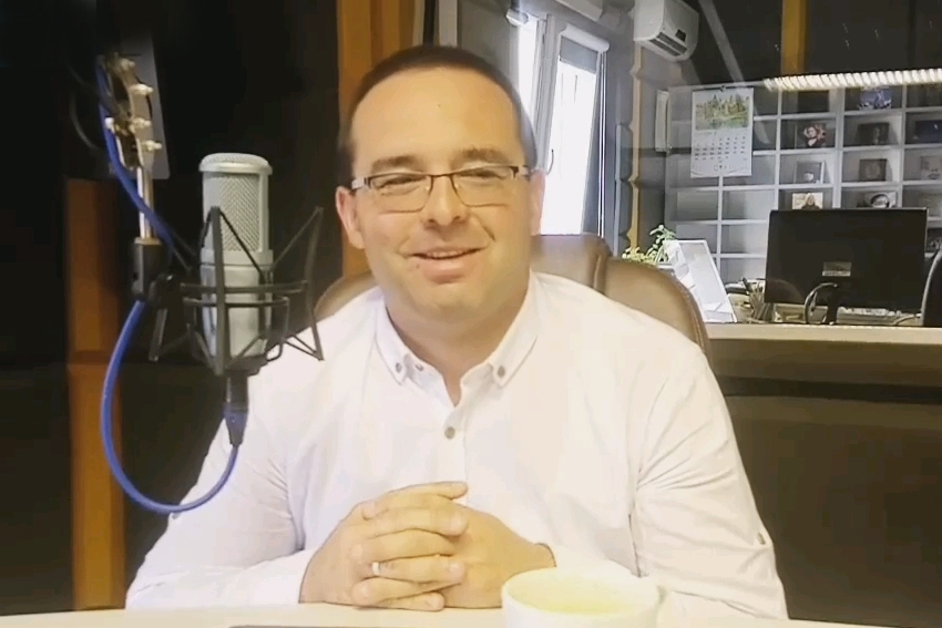 28.09.2020 - Gościem Dnia Radia Nysa był Artur Kamiński