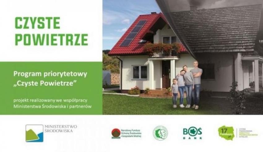 Program 'Czyste powietrze' na terenie gminy Pakosławice