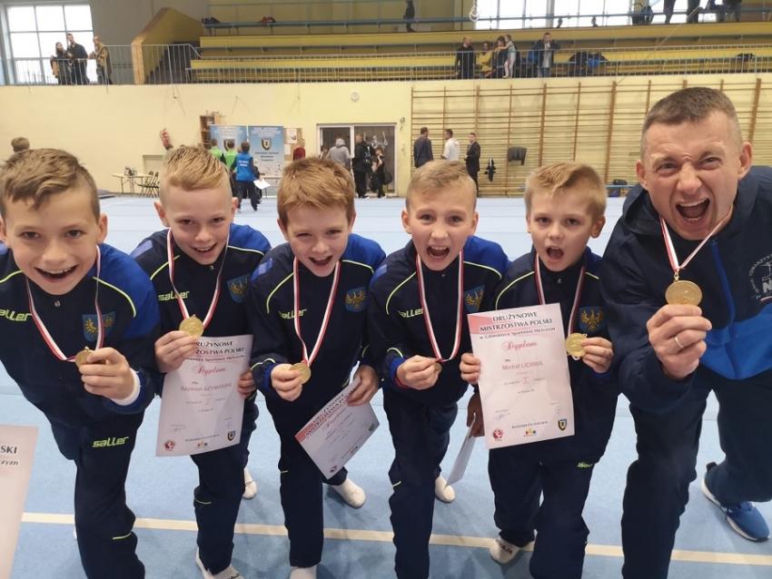 Ogromny sukces młodych nyskich gimnastyków!