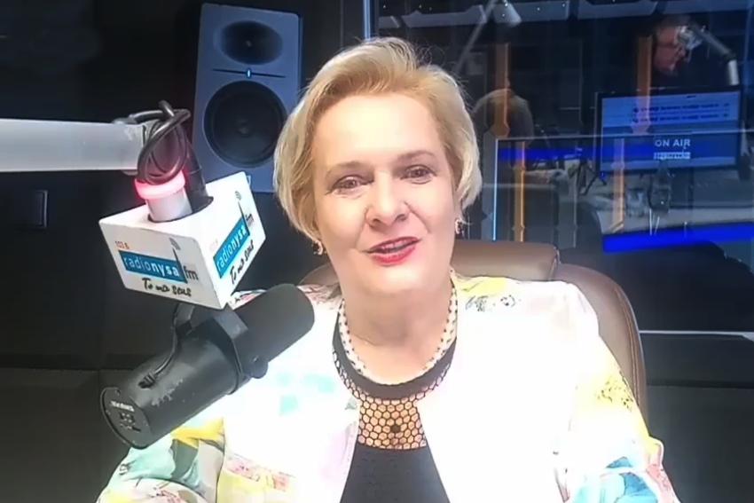 25.11.2020 - Gościem Radia Nysa była Teresa Barańska